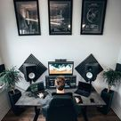All black desk setups that will inspire you to adapt this modern minimal trend
