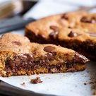 RIESEN-COOKIE: ein einfaches Rezept für einen SCHOKO-Cookie in Kuchengröße!!