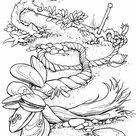 The sea shells Coloring Page