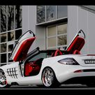 2008 Mercedes Benz SLR McLaren Roadster w/ Brabus smart Ultimate 112 Tender Package