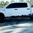 Toyota Tundra Side Door Rocker Panel Mountain Decal Sticker 2007 - 2020