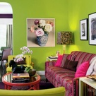 Lime Green Walls