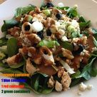 Chicken Spinach Salads