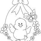 Decorazioni di Pasqua - Uovo di Pasqua con pulcino - Lavoretti Creativi