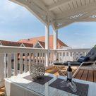 FeWo Meereslust - Villa Seestern,2 Balkone,seitl Meerblick,Infrarotsauna