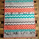 Chevron Baby Quilts