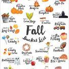 FREE Fall Bucket List