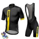Men's  Breathable Short Sleeve Cycling Jersey Kit   cycling jersey set / XL