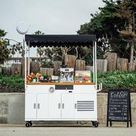 Ferla Mini Compact Vending Cart (Available in Stock)