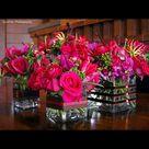 Pink Centerpieces