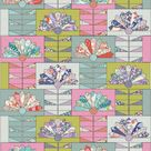 Tilda Lazy Days FAN FLOWER Quilt Kit in Pink/Green with Backing | 55