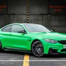 BMW Individual BMW M4 Competition in Signal Green