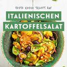 Italienischer Kartoffelsalat mit Pesto Rosso 🥔 🇮🇹