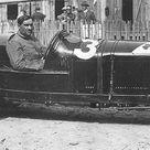 GP France ACF 1925 at Monthlery , Giuseppe Campari with Alfa Romeo P2 3.
