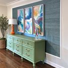 The Half-Finished Project Challenge: Two Down (Entryway Credenza and Frame) - Addicted 2 Decorating®