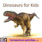 Dinosaurs For Kids: Fun Activities