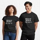 Ateez Hala Hala Lyrics Classic T-Shirt by puki-ycdi