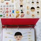 Body Parts Printable Pack for Toddlers, Busy Books Activity Pages, Learning Folder Resources