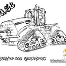 free tractor printable coloring pages