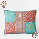Lillith Handcrafted Cotton Quilted Sham - Multi