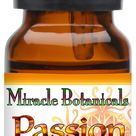 Miracle Botanicals Passion Anointing Oil - 10% Essential Oil Sacral Chakra Synergy Blend in a Golden