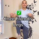 Beginner Knee Friendly Leg Home Workout