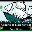 Algebra Power point Graphs of Exponential Functions with GUIDED NOTES/NO PREP
