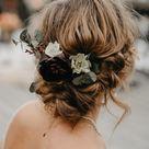 Brautfrisuren mit Blumen - 40 Ideen für Blumen im Haar - Hochzeitskiste