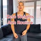 Beginner Arm Workout with No Weights