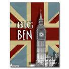 Big Ben London British Union Jack Picture Postcard | Zazzle.com