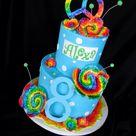 Tie Dye Cakes