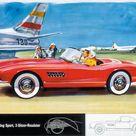 1955 BMW 507   Milestones