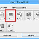 Canon : MAXIFY Manuals : MB5000 series : Scanning Photos