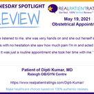Patient of Dipti Kumar, MD   5 19 2021