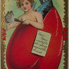 3d cartes cadeau d/'anniversaire creux Salut cartes postales v1t8 Vintage Love PAP s2k0