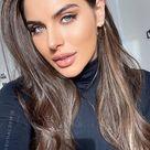 Brown Hair Colour Ideas for 2021 : Glossy Dark Chocolate Brown Hair