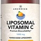 Liquid Liposomal Vitamin C 1000mg Supplement. Better than capsules. Immune Support, Skin Health, Collagen Production. Fast Antioxidant Delivery. Highly Bioavailable. Quali®-C, Soy-Free, Vegan Non-GMO.