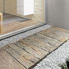 EHL Gehwegplatte Beton-Bahnschwelle (Naturbraun, 22,5 x 90 x 5 cm, Stonewood)