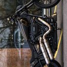 "Harley-Davidson FXDR Custom ""Golden Edge"" by BTChoppers"
