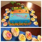 Hawaiian Theme Cakes