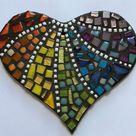Small Rainbow Mosaic Heart kit
