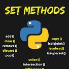 Python Set Methods