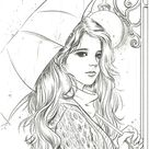 537. Love Letter Coloring Book by momogirl
