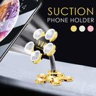 360° Magic Suction Phone Holder - Cell Phones & Accessories - Pink - Gold