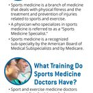 Learn all about Sports Medicine [Infographic]