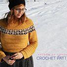 The Waffle Cardigan Crochet Pattern   Etsy