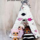 DIY Doll Tent for LOL surprise dolls