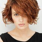 Frisuren Bilder: Unstrukturierter, femininer Kurz-Bob - Frisuren, Haare