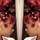 India Love Westbrook Inspired Bun Tutorial   Natural Protective Hairstyles