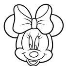 Gezicht Minnie Mouse